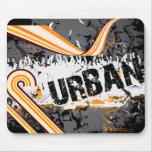 Fondo urbano tapetes de raton