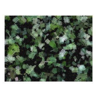Fondo usando remiendos verdes del paño fotografía