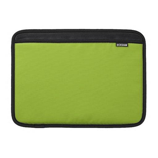 Fondo verde androide funda macbook air