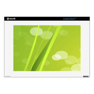 Fondo verde claro skins para portátil
