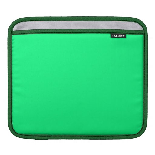 Fondo verde de la primavera fundas para iPads