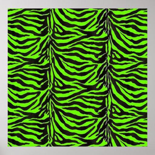 Fondo verde de neón de la textura de la piel de la poster