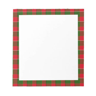 Fondo verde y rojo de la tela de la tela escocesa blocs