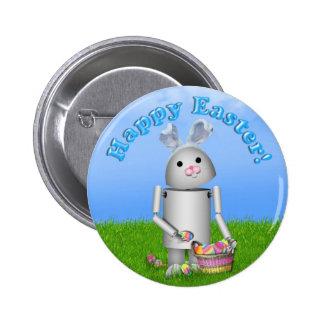 Fondo y texto de Pascua Robo-x9 w/Scenic Pin