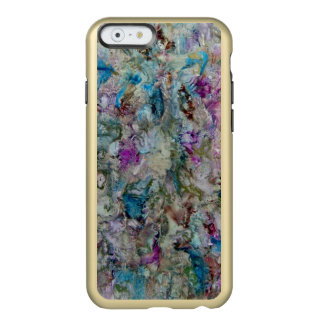 Fondos, brillo de Feather® del iPhone 6, oro Funda Para iPhone 6 Plus Incipio Feather Shine