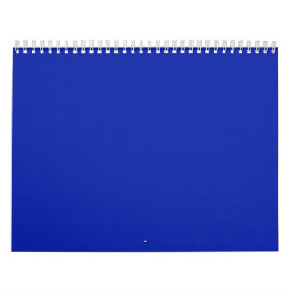Fondos del azul real en un calendario