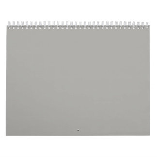 Fondos grises en un calendario