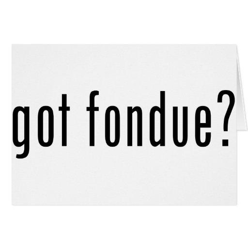 """¿""""fondue"""" conseguida? felicitacion"""