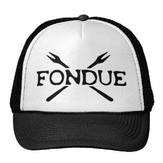 fondue icon trucker hat
