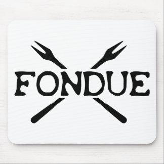 fondue icon mousepads