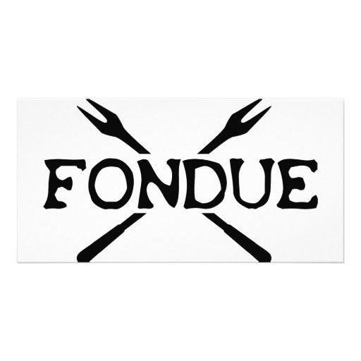 fondue icon photo card
