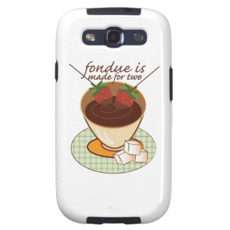 Fondue Is Made For Two Samsung Galaxy SIII Cases