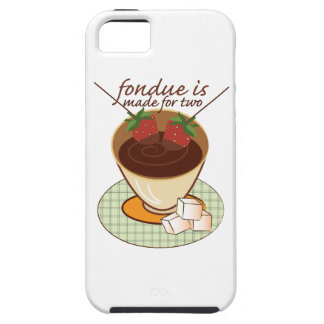 Fondue Is Made For Two Case For iPhone 5/5S