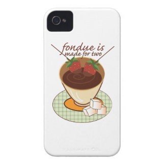 Fondue Is Made For Two iPhone 4 Case-Mate Case