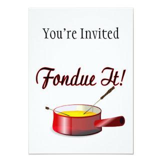 Fondue It Fondue Set Card