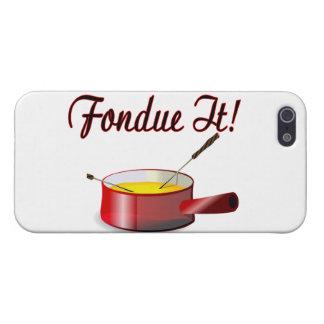 Fondue It Fondue Set Case For iPhone SE/5/5s