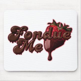 Fondue Me Jeffro2008 Mouse Pad
