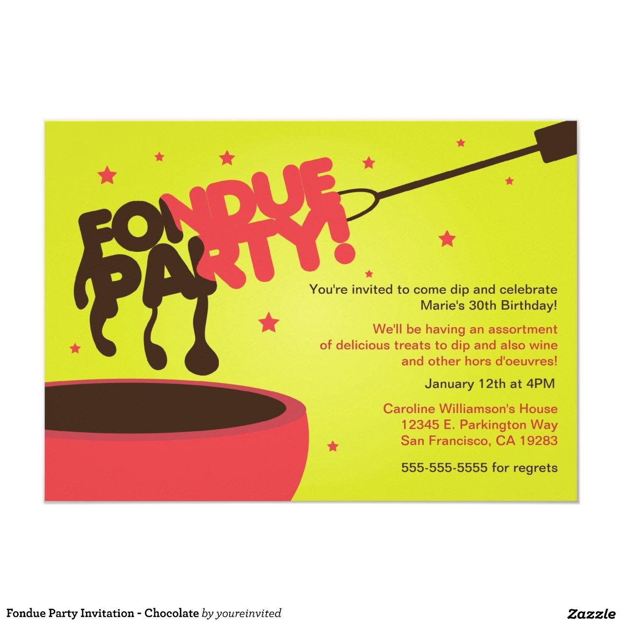 fondue_party_invitation_chocolate ...