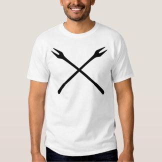 fondue spit icon t shirt