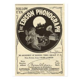 Fonógrafo de Edison Postal
