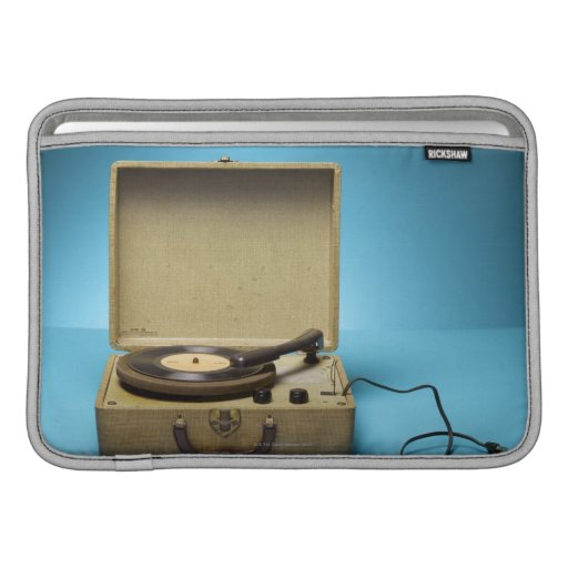Fonógrafo del vintage funda  MacBook
