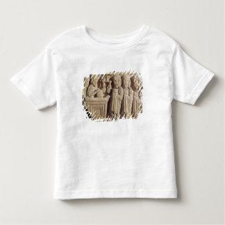 Font depicting an unguent seller t shirt