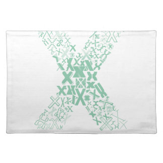 Font Fashion X Cloth Placemat