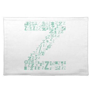 Font Fashion Z Placemat