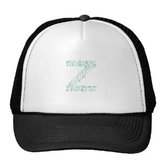 Font Fashion Z Trucker Hat