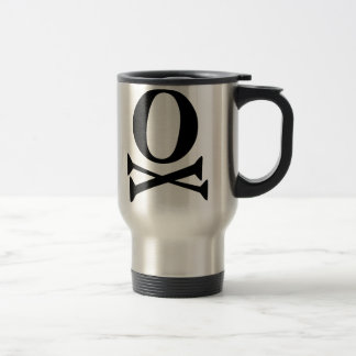 Font Pirate Travel Mug