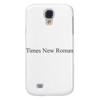 FONT - Times New Roman Samsung Galaxy S4 Case