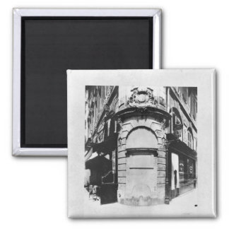 Fontaine de la Reine, rue Saint-Denis, Paris 2 Inch Square Magnet