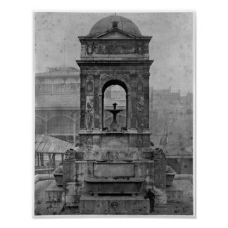 Fontaine des Innocents, 1547 Poster