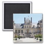 Fontainebleau castle 2 inch square magnet