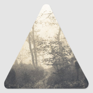 Fontainebleau Forest Triangle Sticker