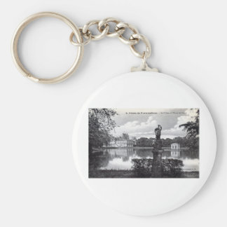 Fontainebleau Palace, France 1910 Vintage Keychain
