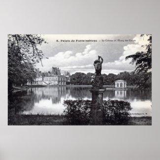 Fontainebleau Palace, France 1910 Vintage print