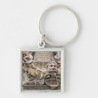 Fontana del Pantheon (1575) designed by Giacomo 2 Keychain