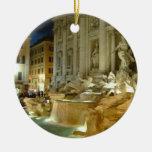 Fontana di Trevi Christmas Ornament