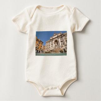 Fontana di Trevi in Rome, Italy Baby Bodysuit