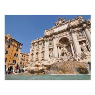 Fontana di Trevi in Rome, Italy Postcard