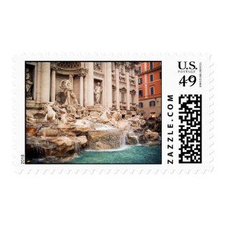 Fontana di Trevi, Roma Franqueo