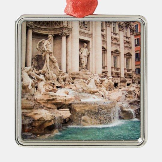 Fontana di Trevi, Rome Metal Ornament