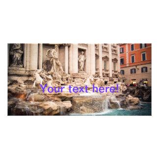 Fontana di Trevi Rome Picture Card