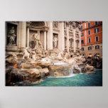 Fontana di Trevi Rome poster
