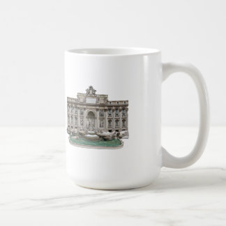 Fontana di Trevi: Trevi Fountain: 3D Model: Coffee Mug