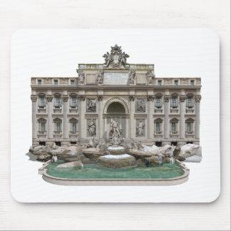 Fontana di Trevi: Trevi Fountain: 3D Model: Mouse Pad