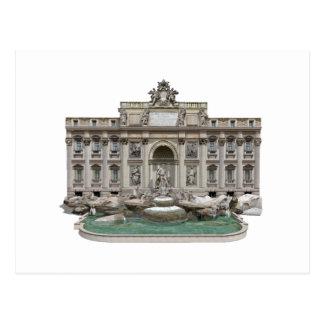 Fontana di Trevi: Trevi Fountain: 3D Model: Postcard