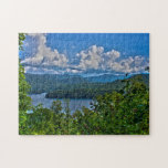 """Fontana Lake, Great Smoky Mountains Photo Puzzle<br><div class=""""desc"""">Photo puzzle with the image of Fontana Lake in the Great Smoky Mountains National Park in North Carolina</div>"""