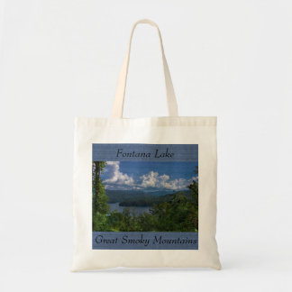 Fontana Lake, Great Smoky Mountains Photo Tote Bag